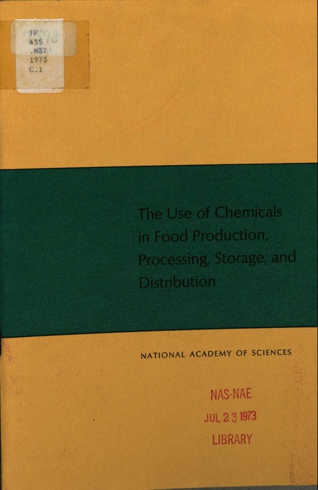 chemicals used in food processing pdf