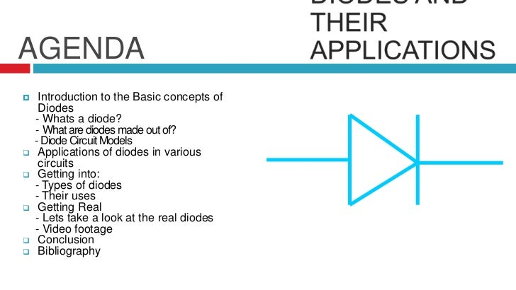 conclusion of diode application