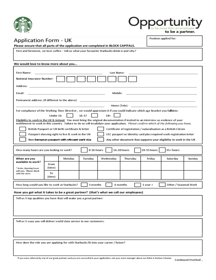 asda uk jobs application form