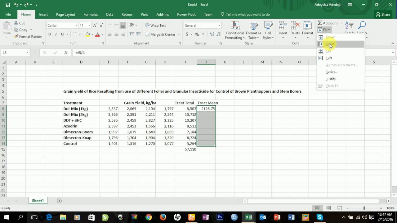 data analysis in excel 2016 pdf