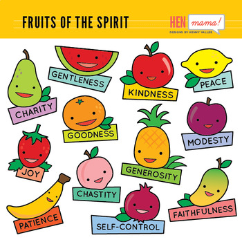 12 fruits of the holy spirit and their meanings pdf
