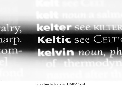 dictionary keltic