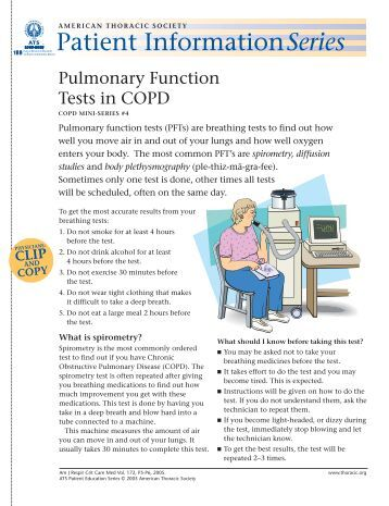 copd patient education handout pdf