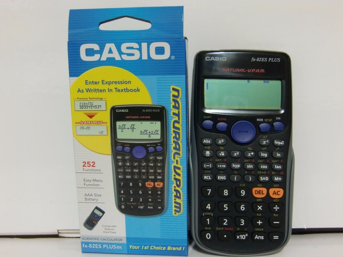 casio fx 82es plus manual