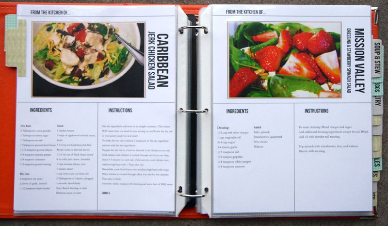 create online recipe book pdf