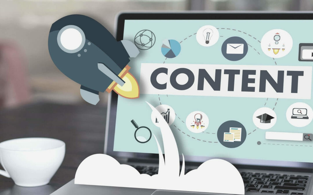 application of content marketing