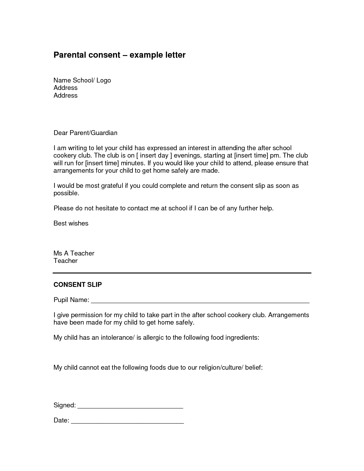 authorization letter sample for documents