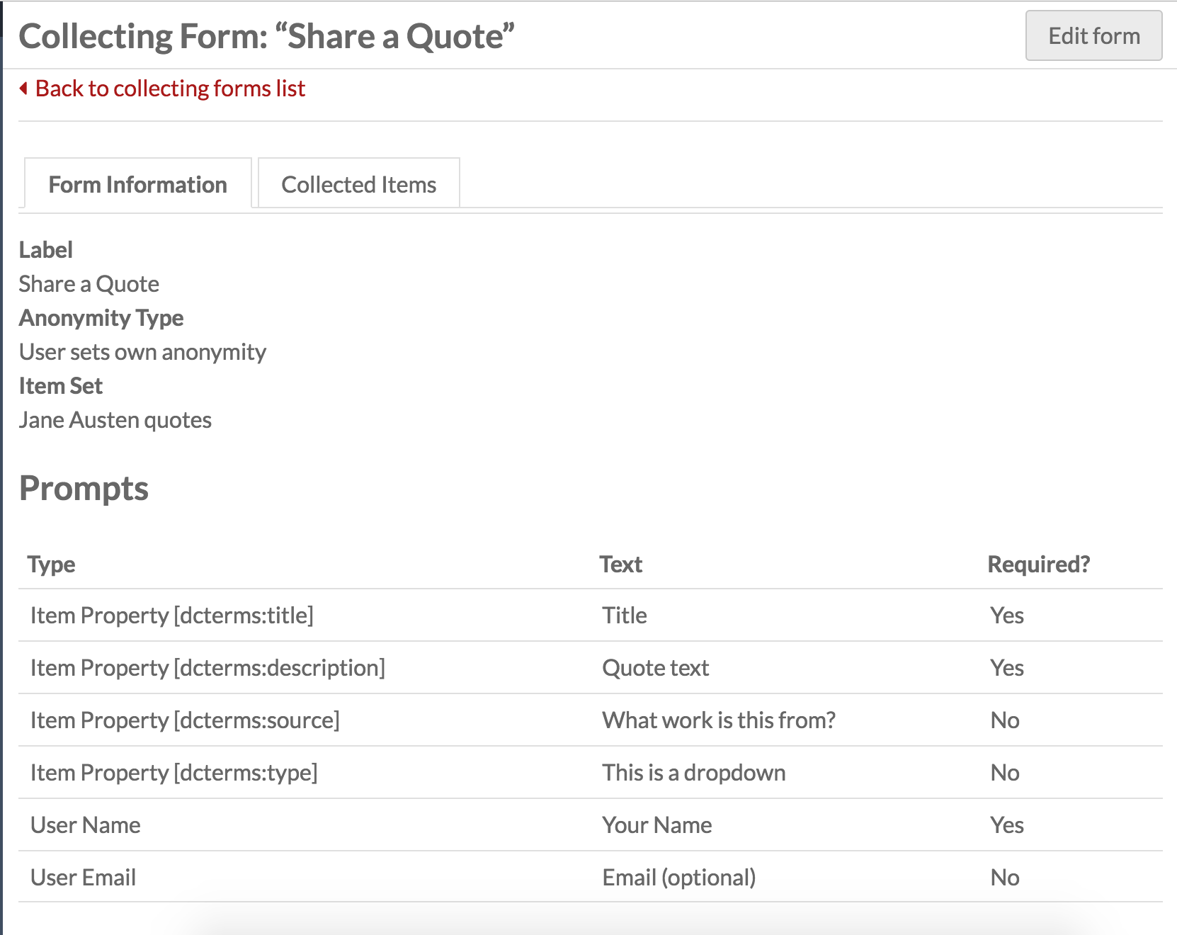 collecting and managing pdf form data
