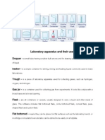 chemistry laboratory apparatus and their uses with pictures pdf