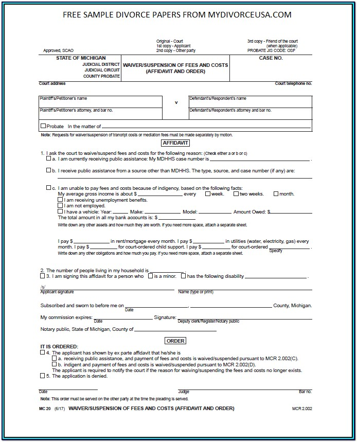 divorce application form in tamil