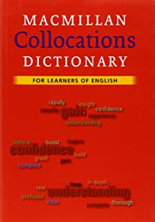 collocation dictionary book