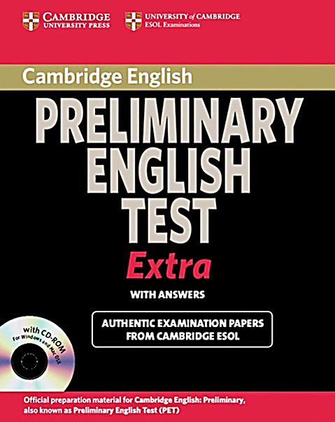 cambridge pet book pdf