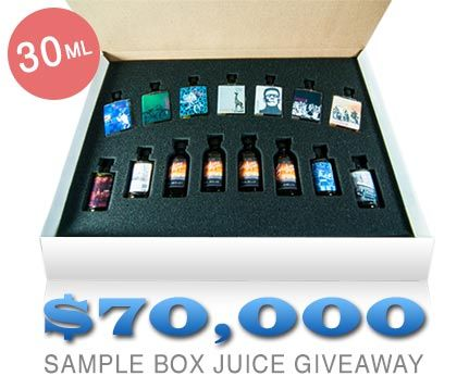 e juice sample box nz