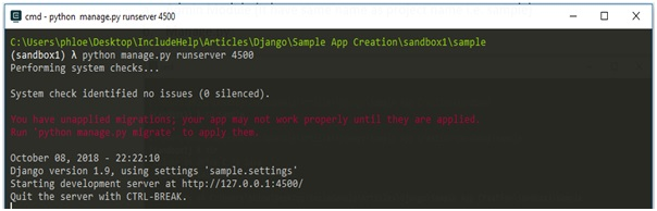 create an array in console application