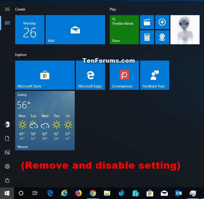 disable all application overlays windows