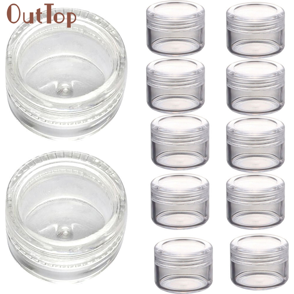 cosmetic sample containers