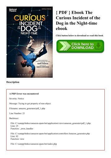 curious incident pdf