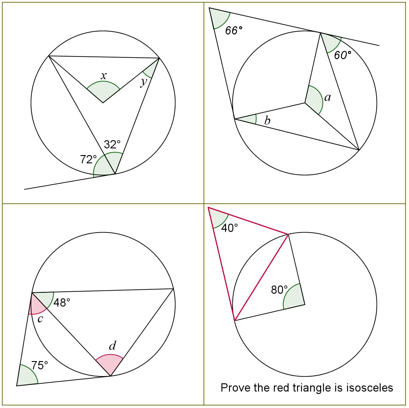 circle questions and answers pdf