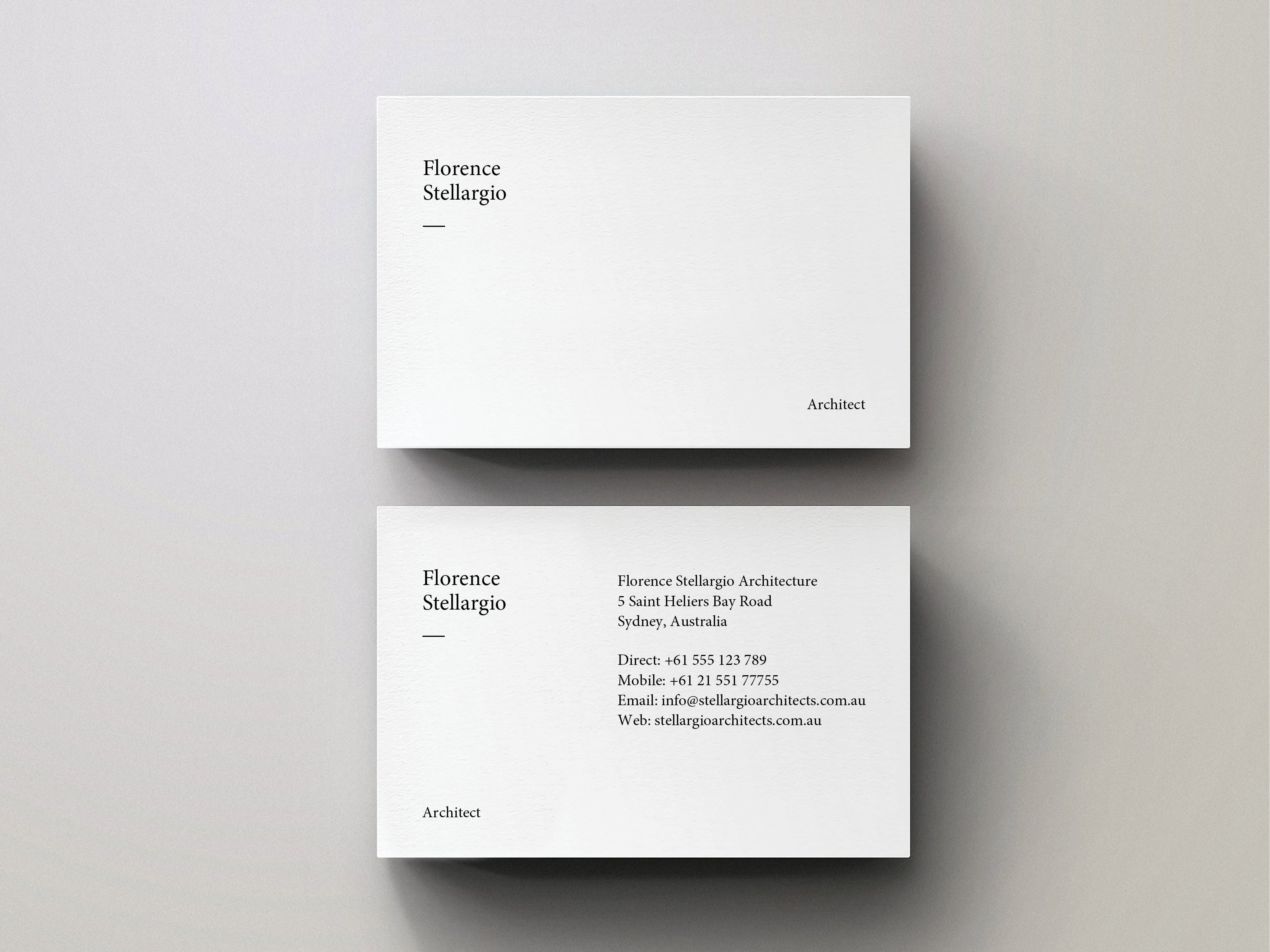 business card pdf