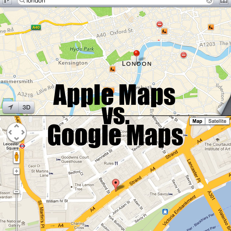 apple maps application
