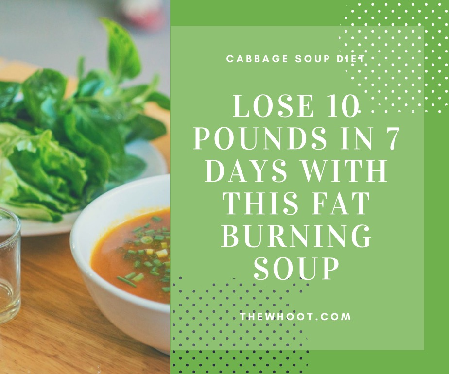 7 day cabbage soup diet instructions