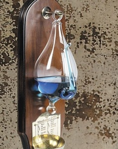 blown glass barometer instructions