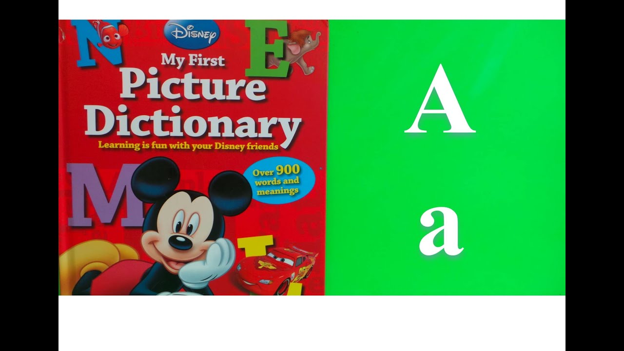 alphabet dictionary