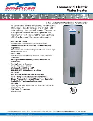 ariston water heater manual