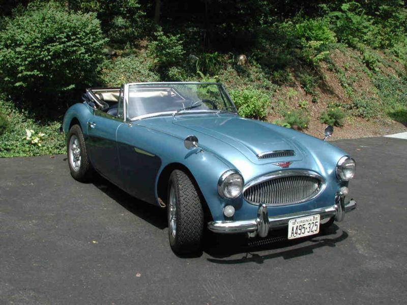 austin healey 3000 price guide