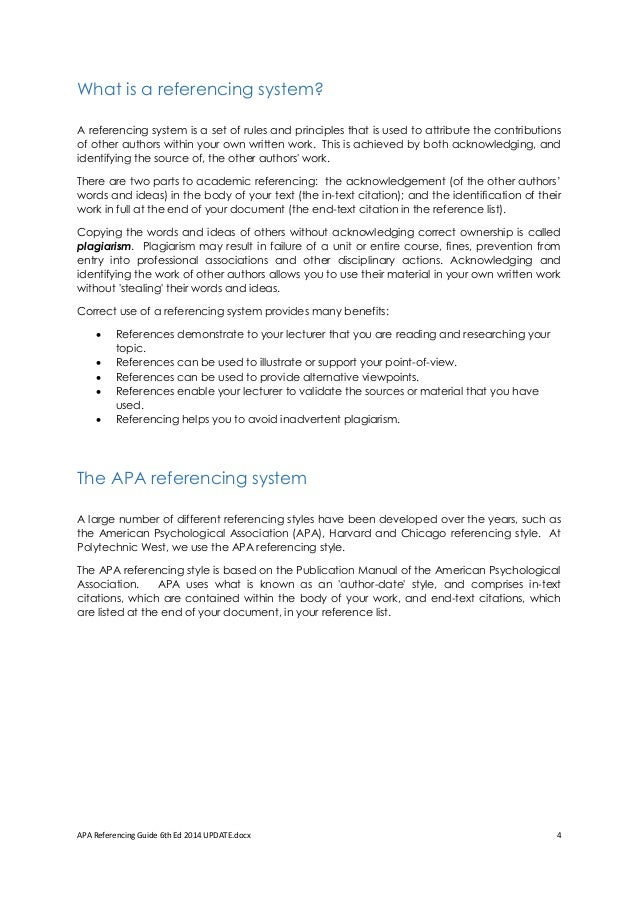 2019 guide to apa referencing