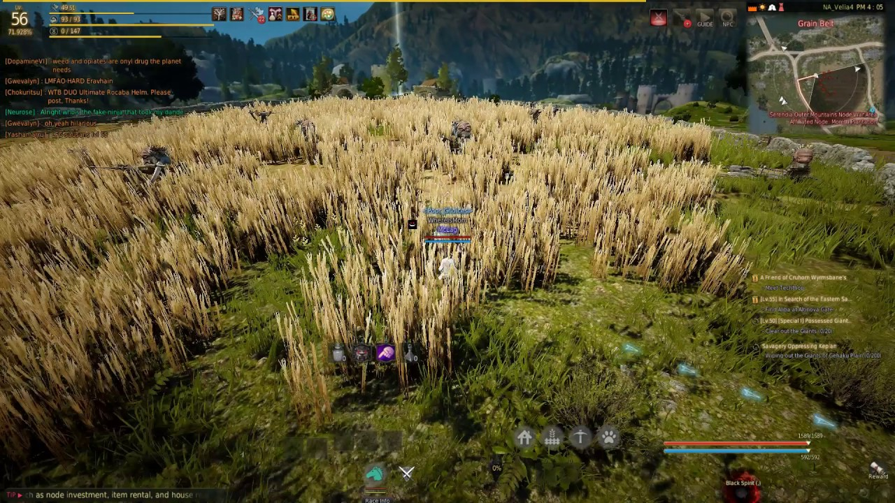 black desert farming leveling guide