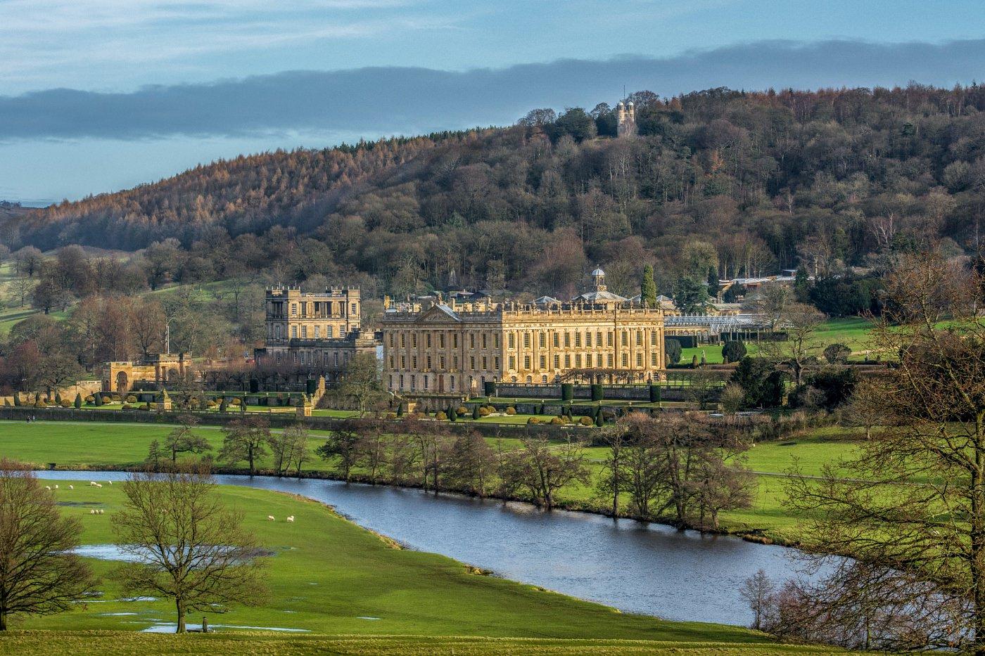 chatsworth house guide book