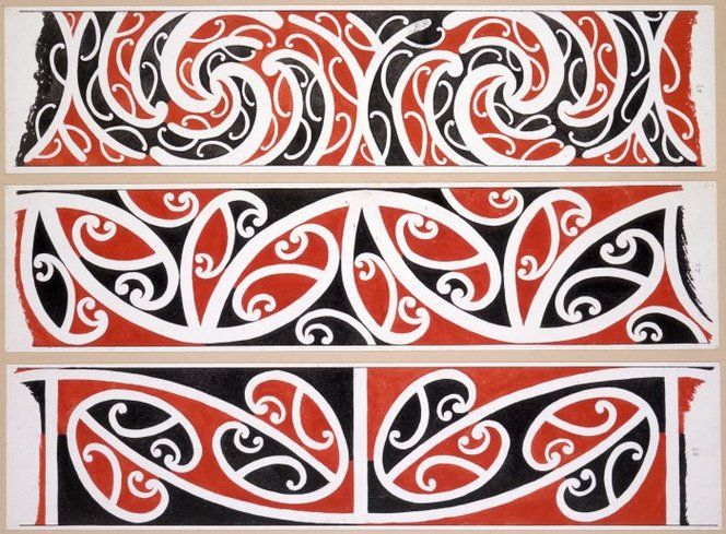 dictionary of kowhaiwhai pattern