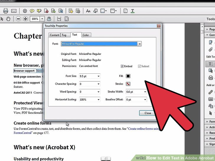 adding pitcure to a pdf in adobe