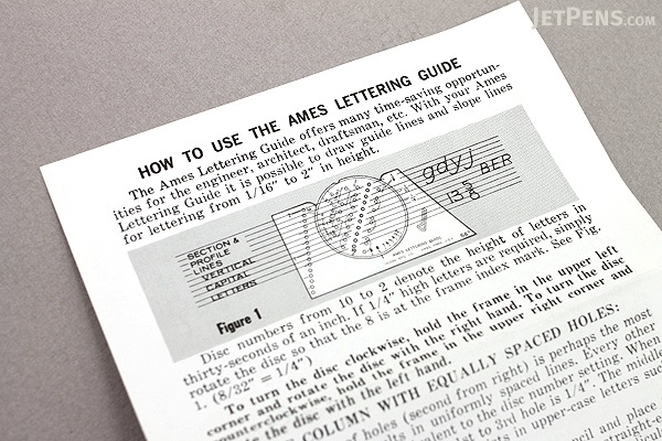 ames lettering guide