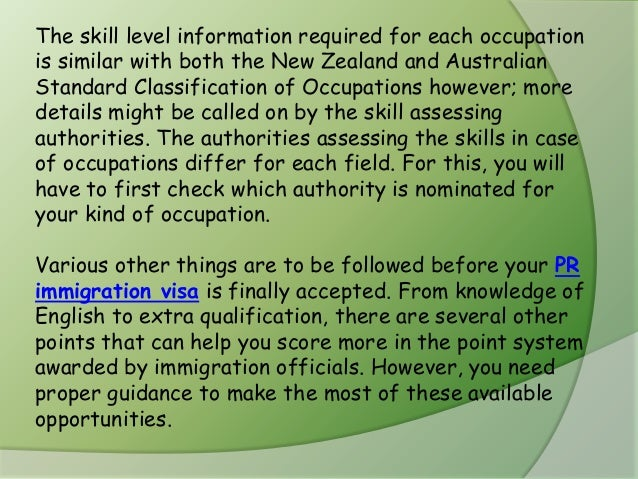 australian and new zealand standard classification of occupations anzsco pdf