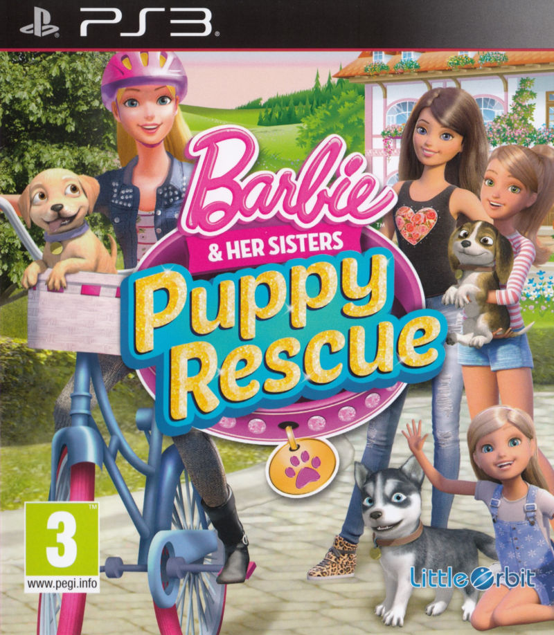 barbie puppy rescue instructions