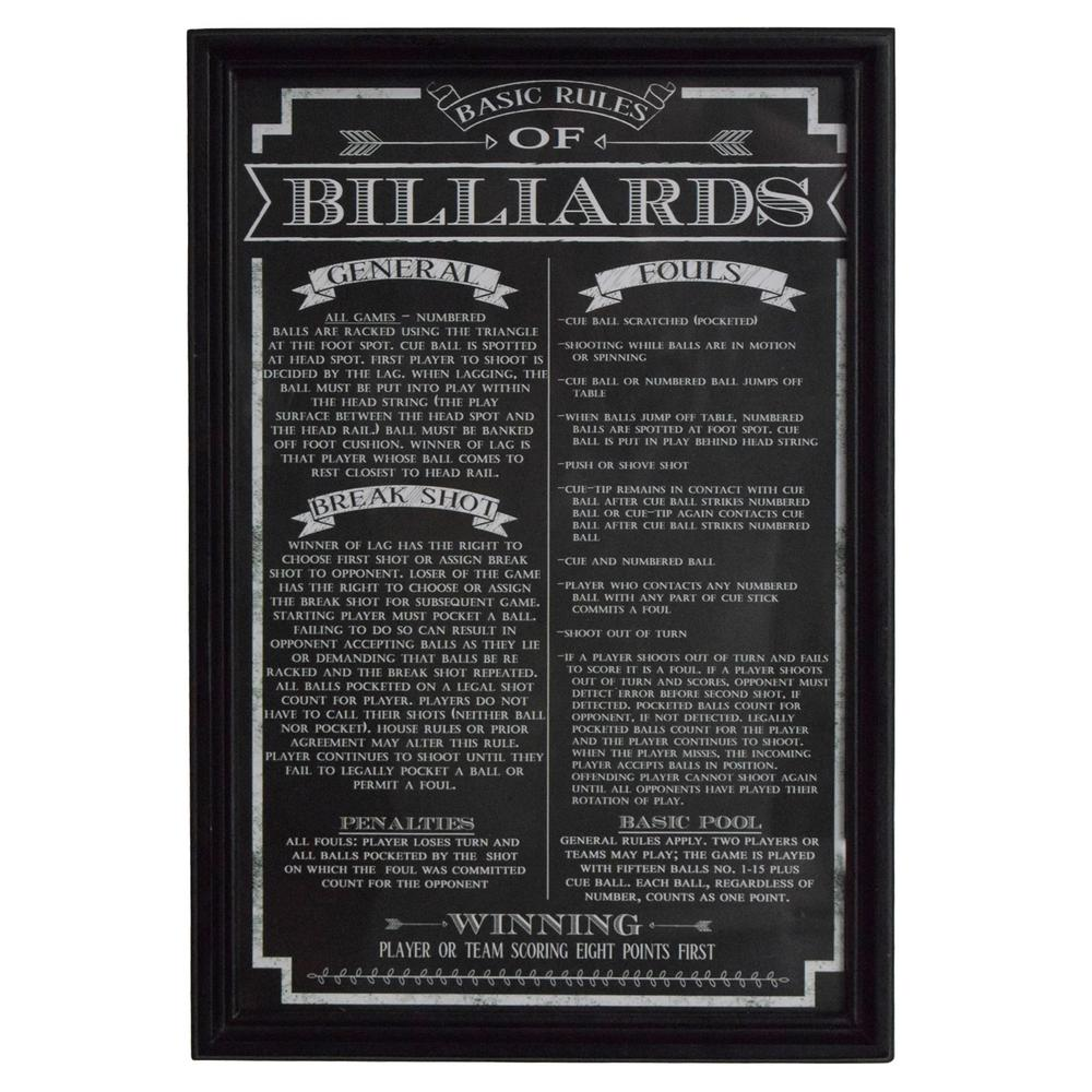 billiards rules and regulations pdf
