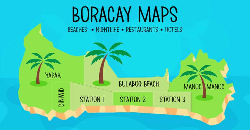 boracay map guide