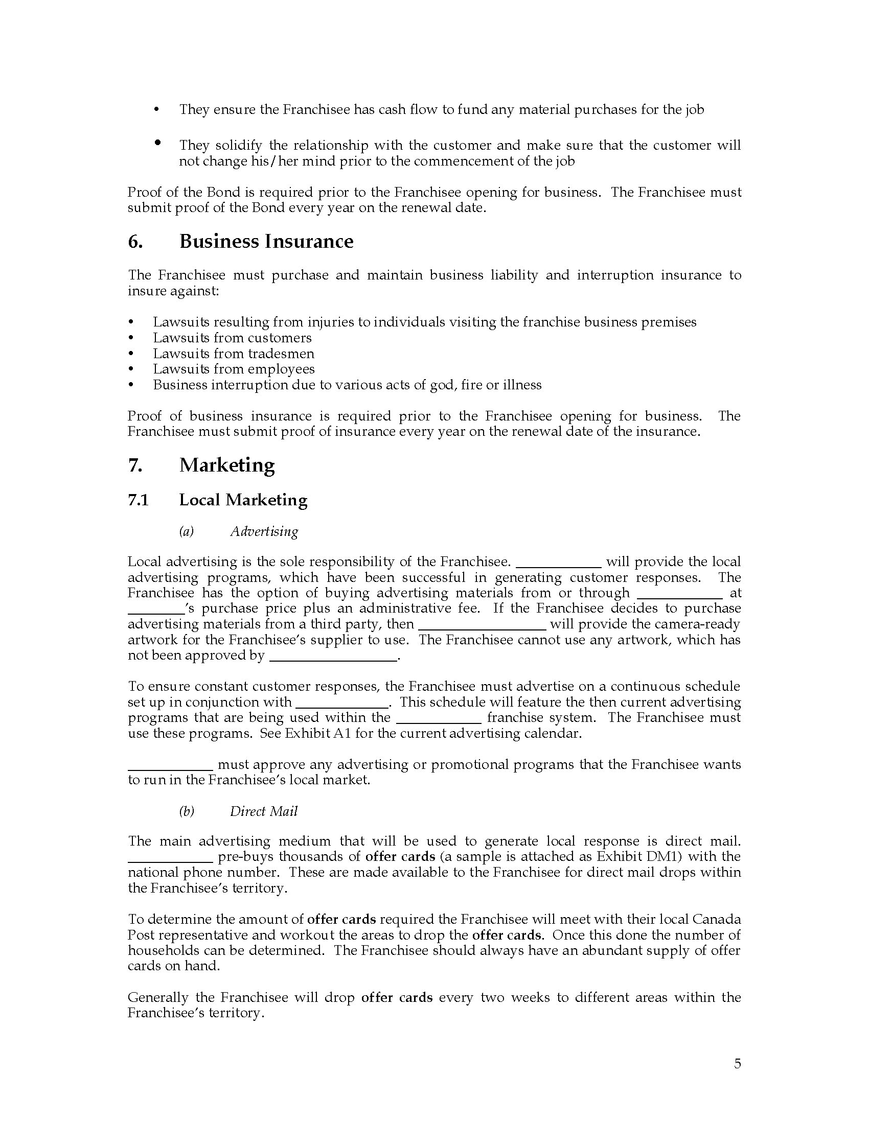 building operation and maintenance manual template