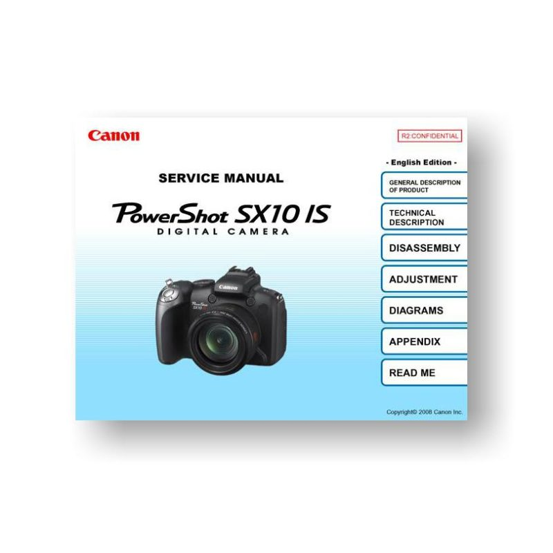canon powershot 10is manual