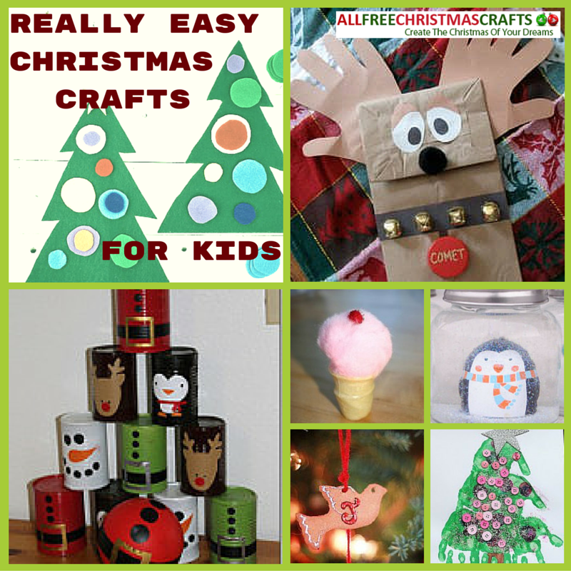christmas crafts for kids and instructions