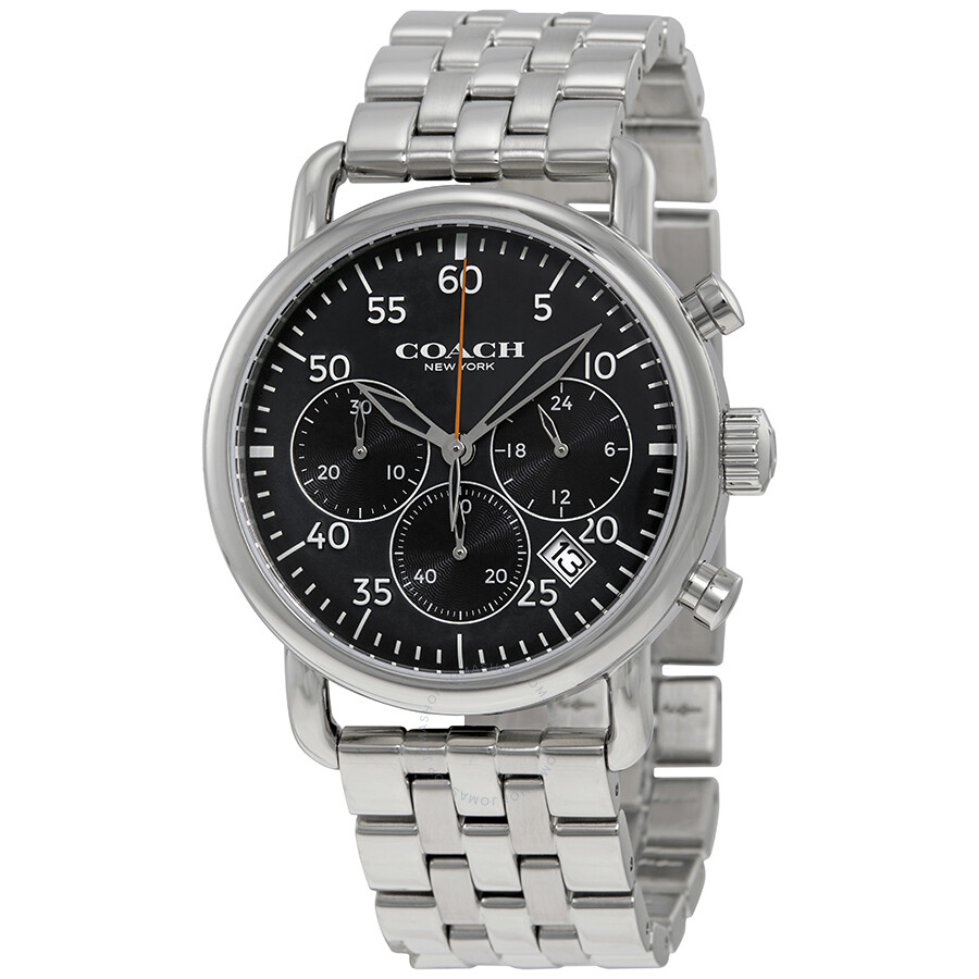 coach chronograph watch instructions