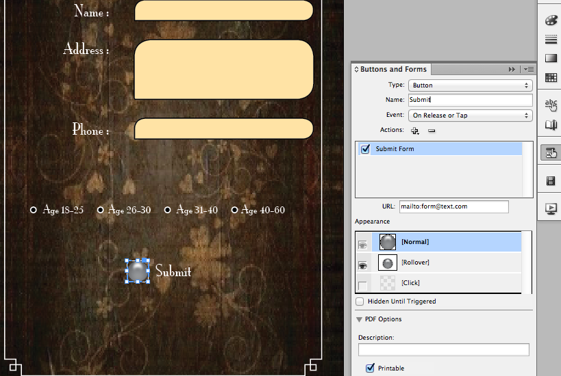 create pdf forms with indesign cs6