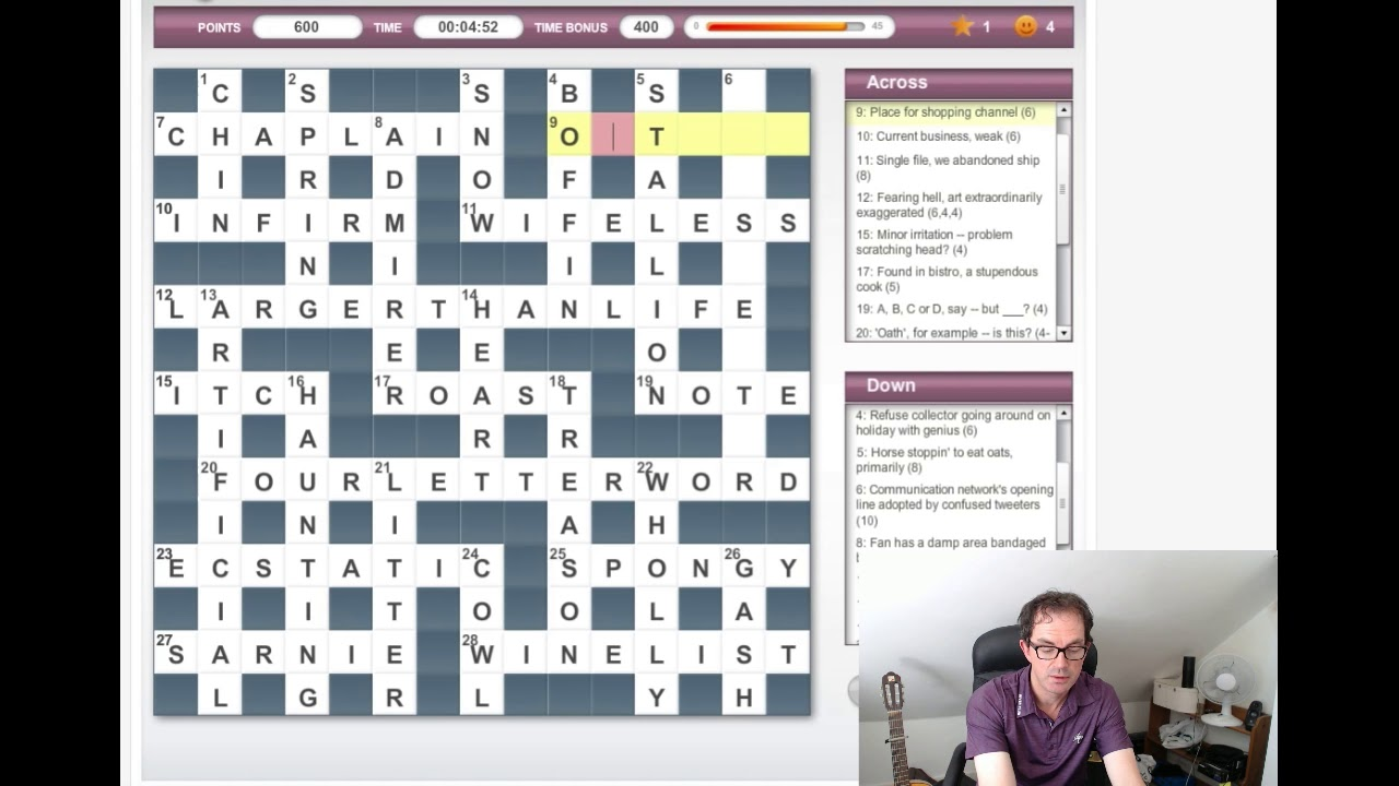cryptic crossword guide