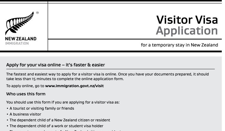 application to immigration minister nz for visa