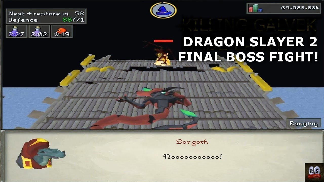 dragon slayer 2 final boss guide