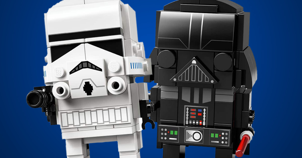 darth vader brickheadz instructions