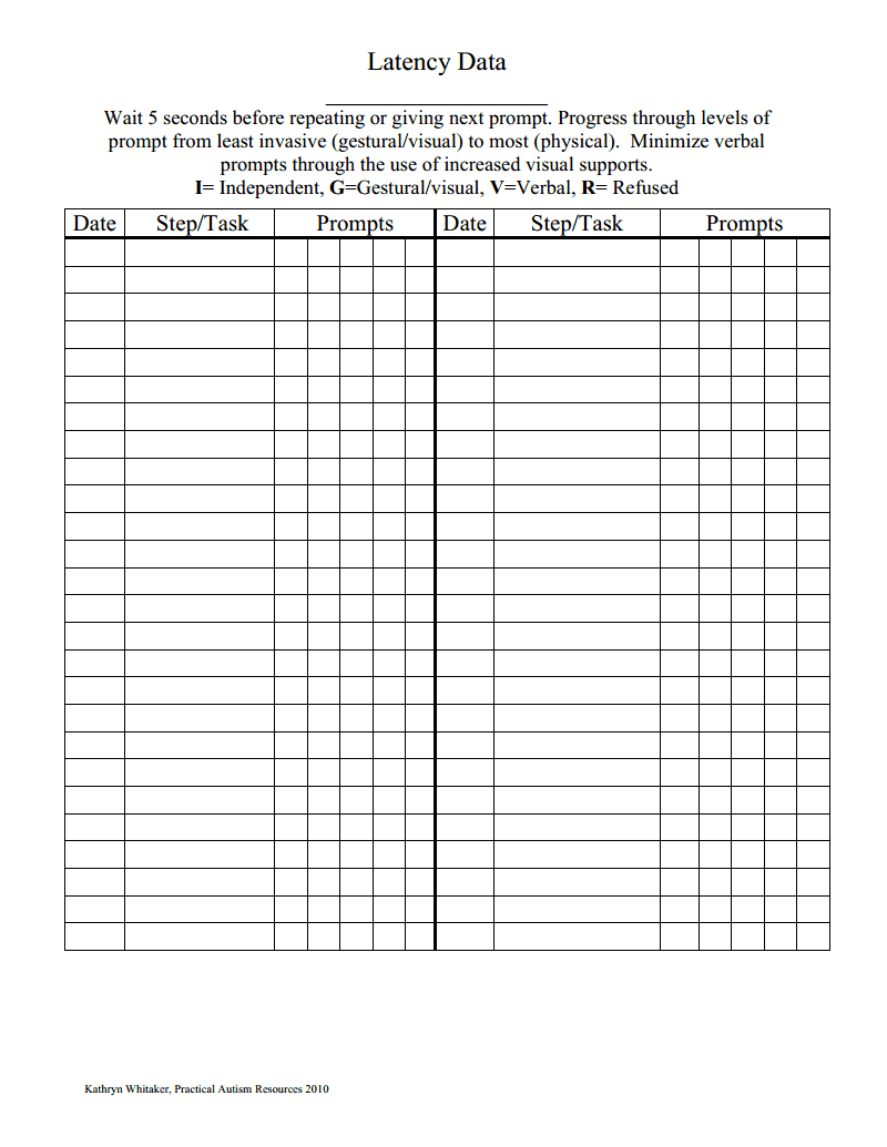 data collection form pdf