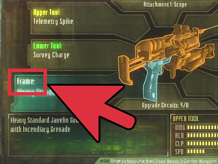 dead space weapons guide